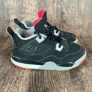 Jordan 4 Retro Sneakers Toddler Kids Size 10